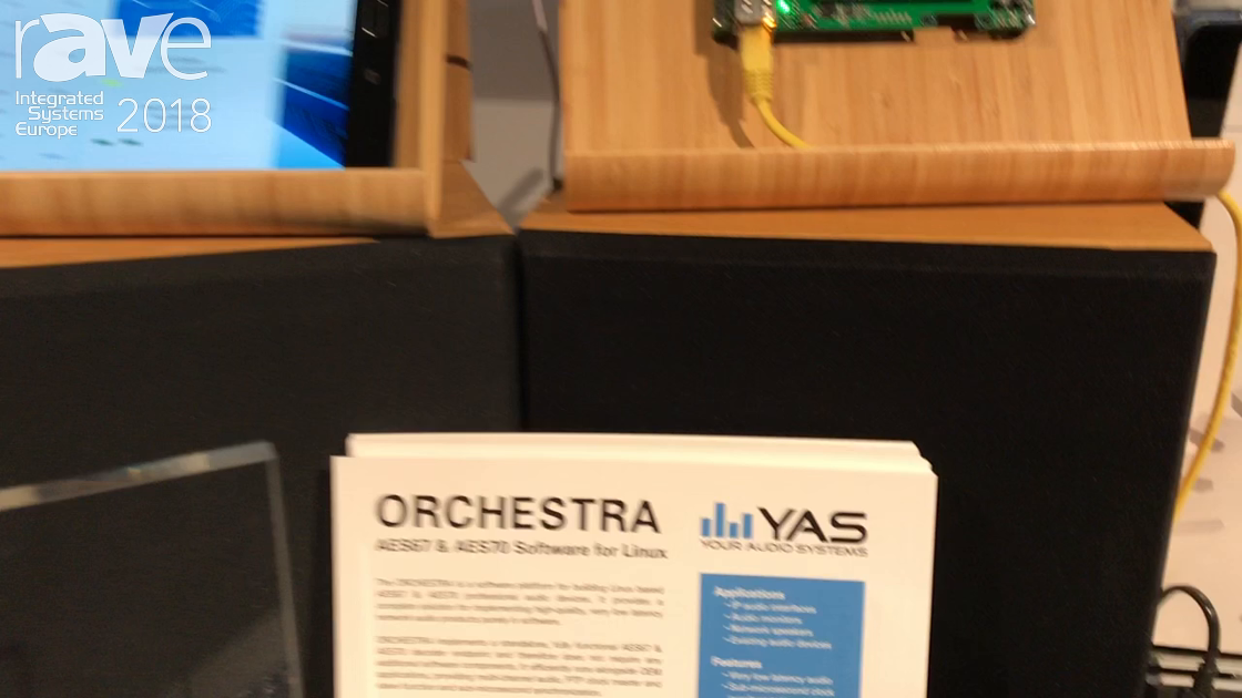 ISE 2018: Your Audio Systems Presents Orchestra AES67 & AES70 Software