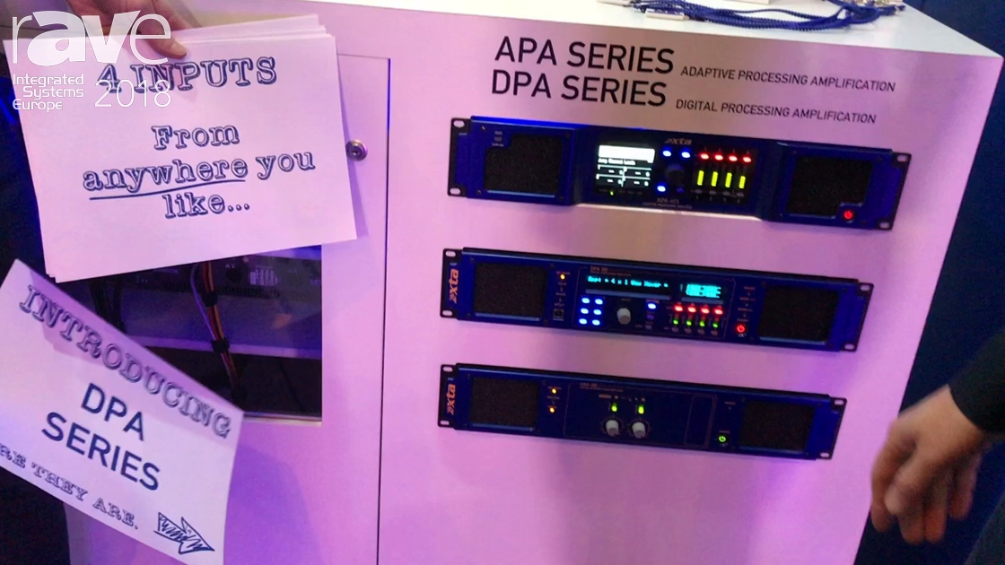 ISE 2018: xta Introduces DPA Series for Digital Processing Amplification