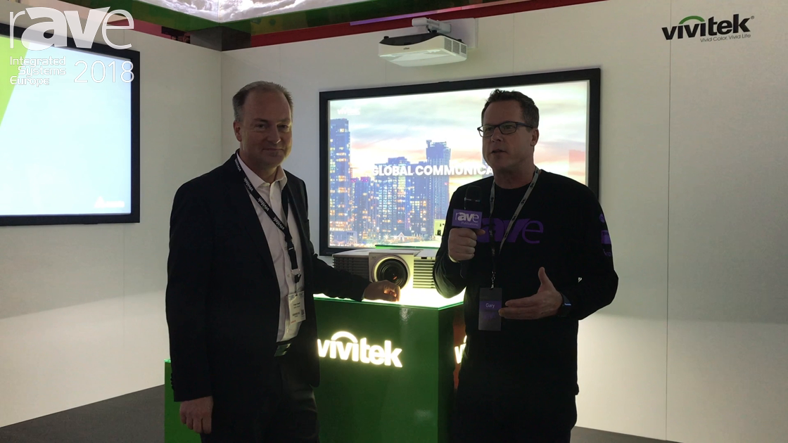 ISE 2018: Gary Kayye Interview Holger Graeff of Delta Displays and Vivitek