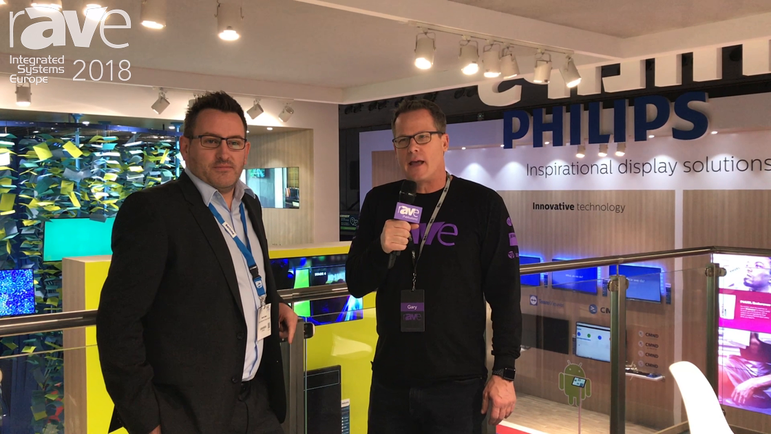 ISE 2018: Gary Kayye Talks to Martin Ware of Philips About LED