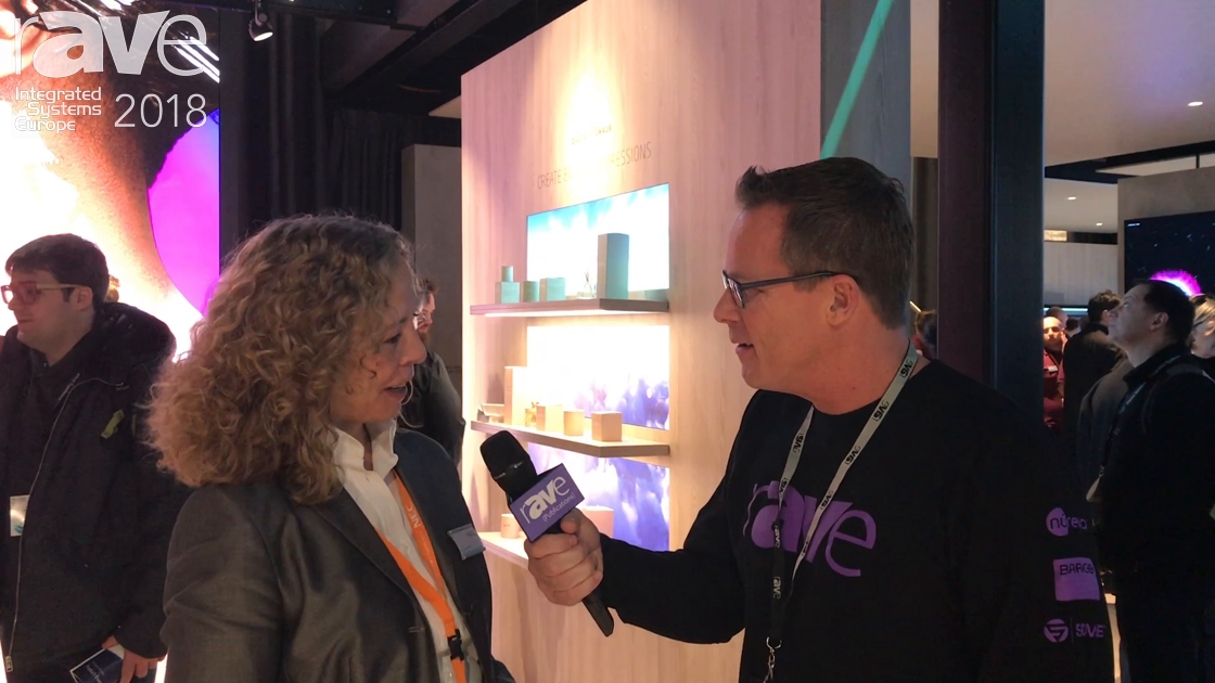 ISE 2018: Stefanie Corinth of NEC Display Solutions Talks to Gary Kayye