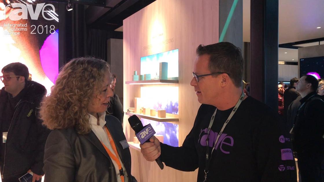 ISE 2018: Stefanie Corinth of NEC Display Solutions Talks to Gary Kayye