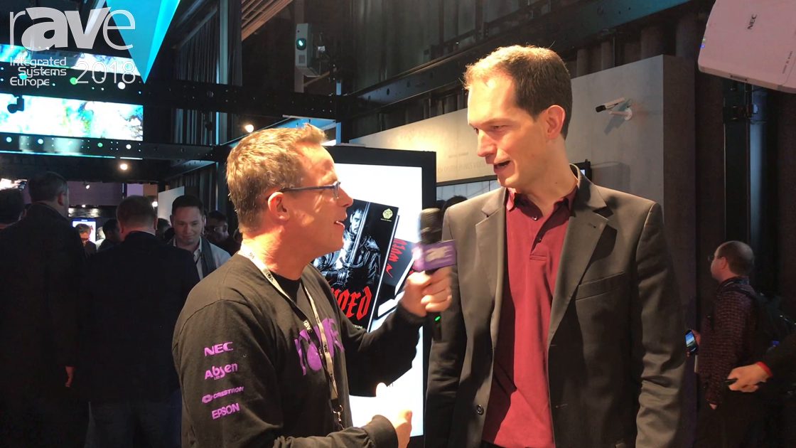 ISE 2018: Thomas Walter of NEC Display Solutions Gives Gary a Stand Tour, Talks Projection and Collaboration