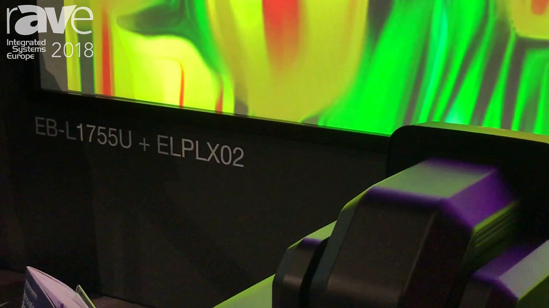 ISE 2018: Epson Adds the New Pro EB-L1755U 15000-Lumen WUXGA 3LCD Laser Projector