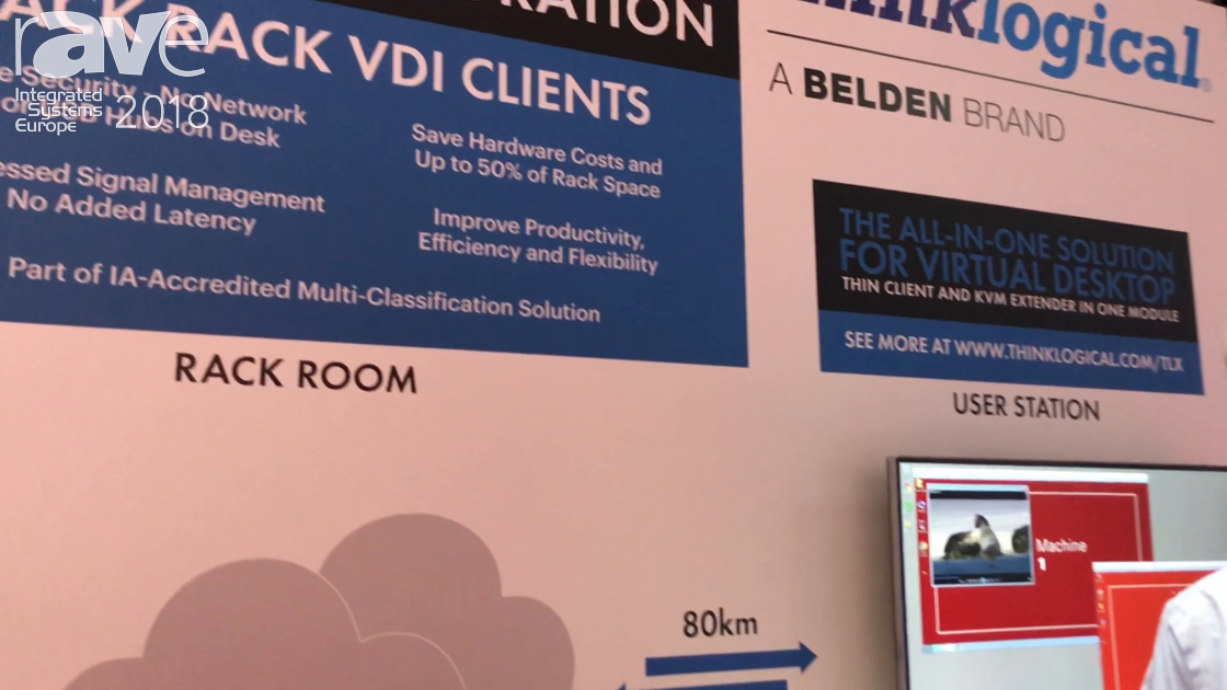 ISE 2018: ThinkLogical Showcases TLX Client Integration Virtual Machine Module for KVM Extension