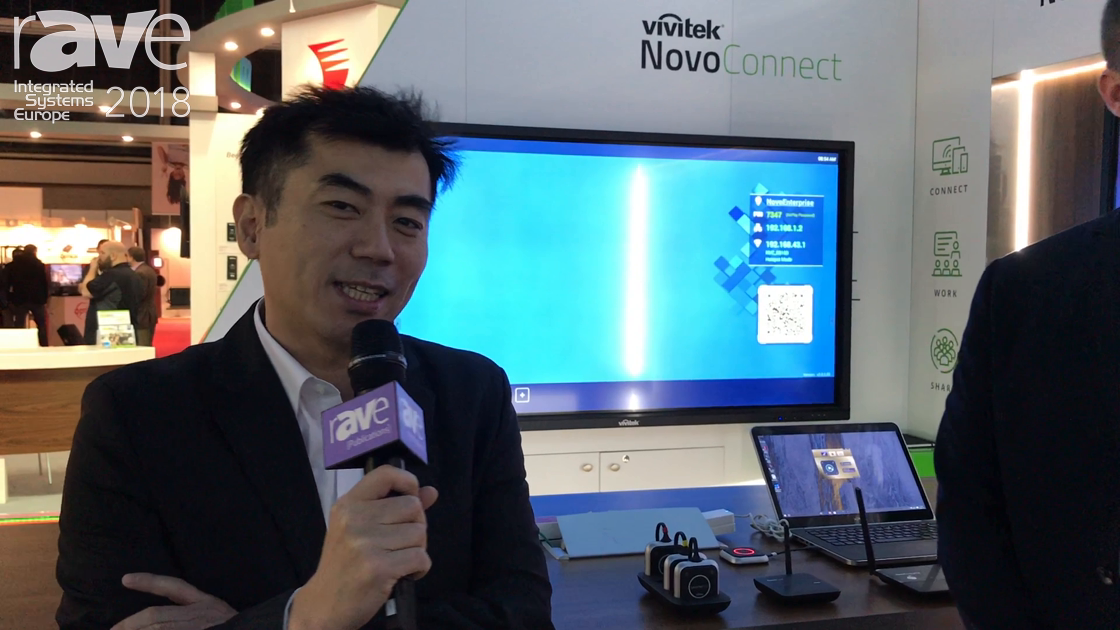 ISE 2018: Vivitek Exhibits Various NovoConnect Wireless Collaboration Solutions