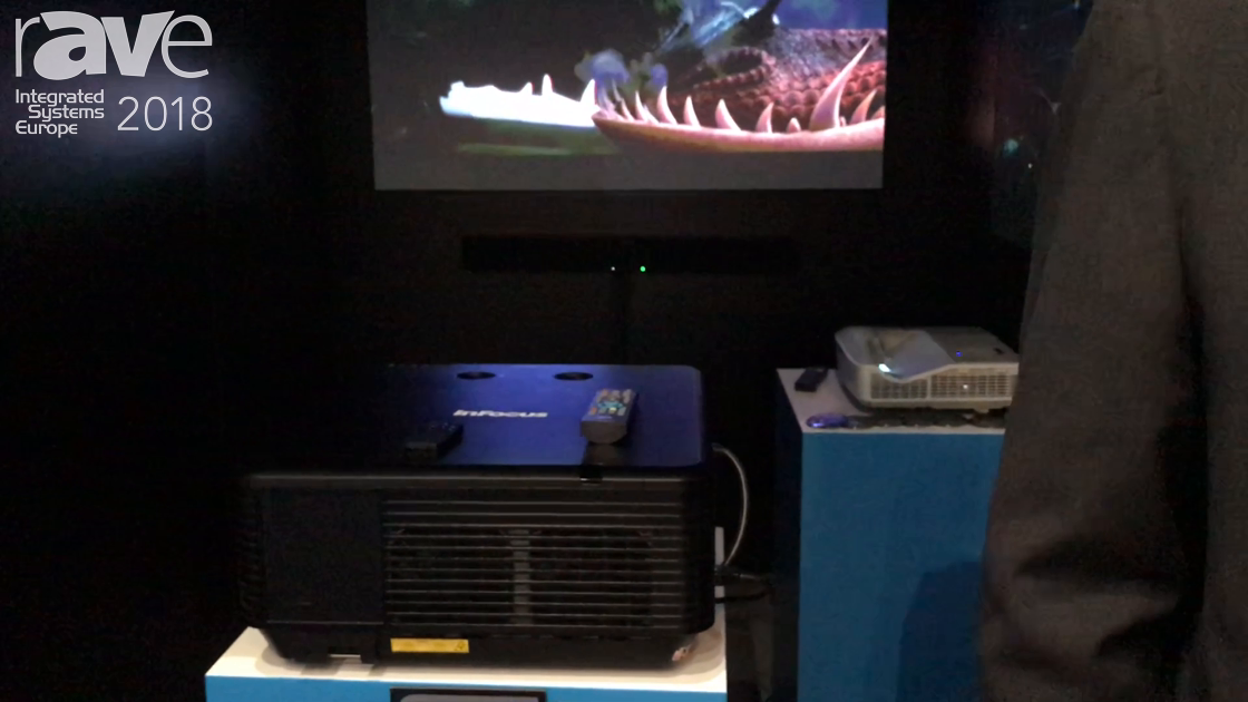 ISE 2018: InFocus Intros the IN5359 Laser Projector and INL146HDUST Ultra Short Throw Laser Projecto
