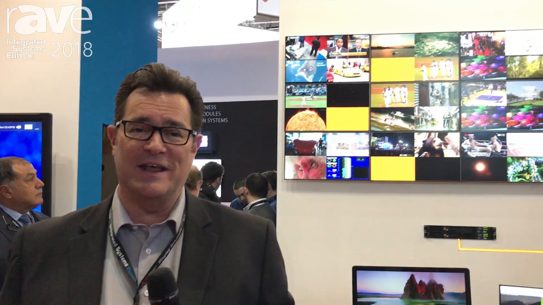 ISE 2018: InFocus Showcases the PixelNet 2.0, Now Able to Move Uncompressed 4K Signals
