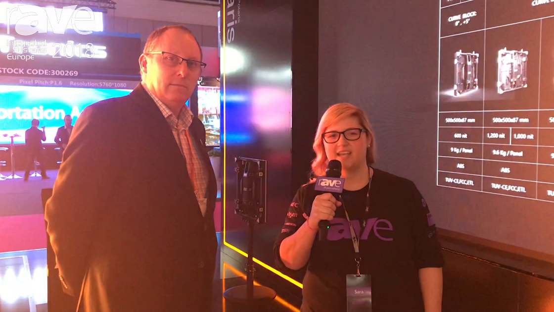 ISE 2018: Paul Johnston of Absen Tours the Stand With Sara Abrons, Talks Altair, COBALT and Acclaim