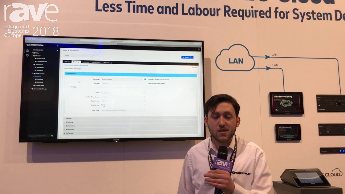ISE 2018: Crestron Features Its XiO Cloud Platform for Deployment, Provisioning and Management