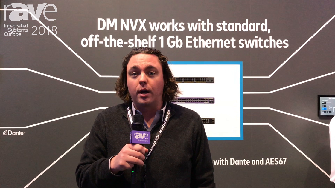 ISE 2018: Crestron Intros the New DM-NVX-352 Network Video Product With Dante Integration