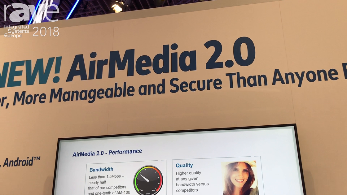 ISE 2018: Crestron's AirMedia 2.0 Is Now Built Into Nearly all Crestron Products
