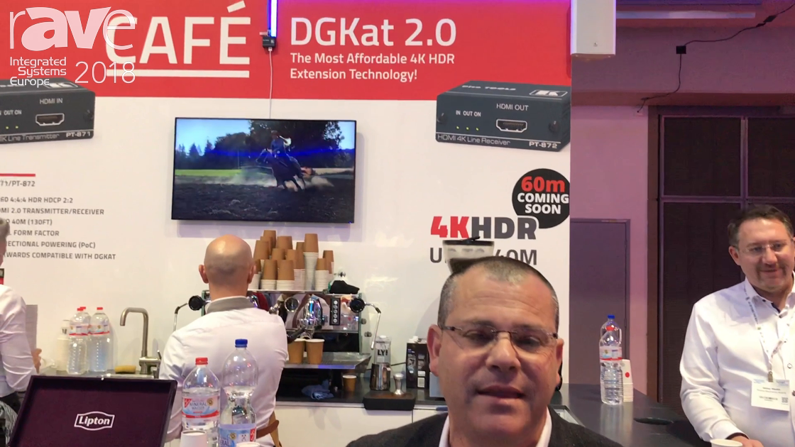 ISE 2018: Kramer Presents the New DGKat 2.0 With 4K60 4:4:4 HDR Technology