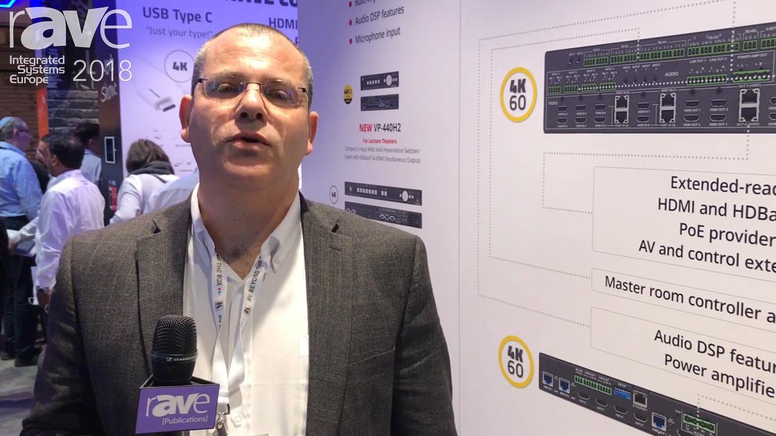 ISE 2018: Kramer Reveals the VS-88UT Integrated Presentation System