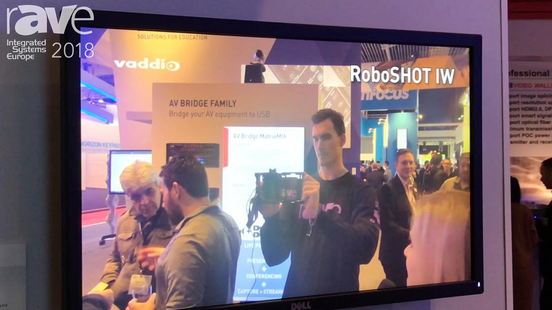 ISE 2018: Milestone's Vaddio Premieres the New RoboSHOT IW PTZ Camera