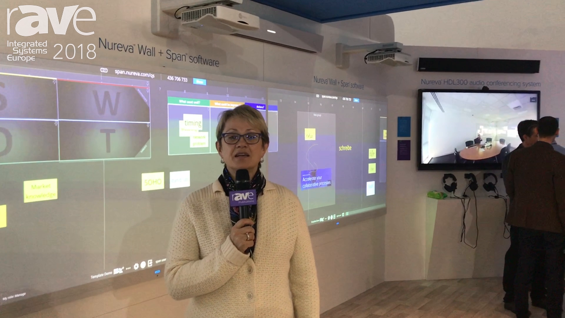 ISE 2018: Nureva's Nancy Knowlton Talks About Its ISE Exhibition