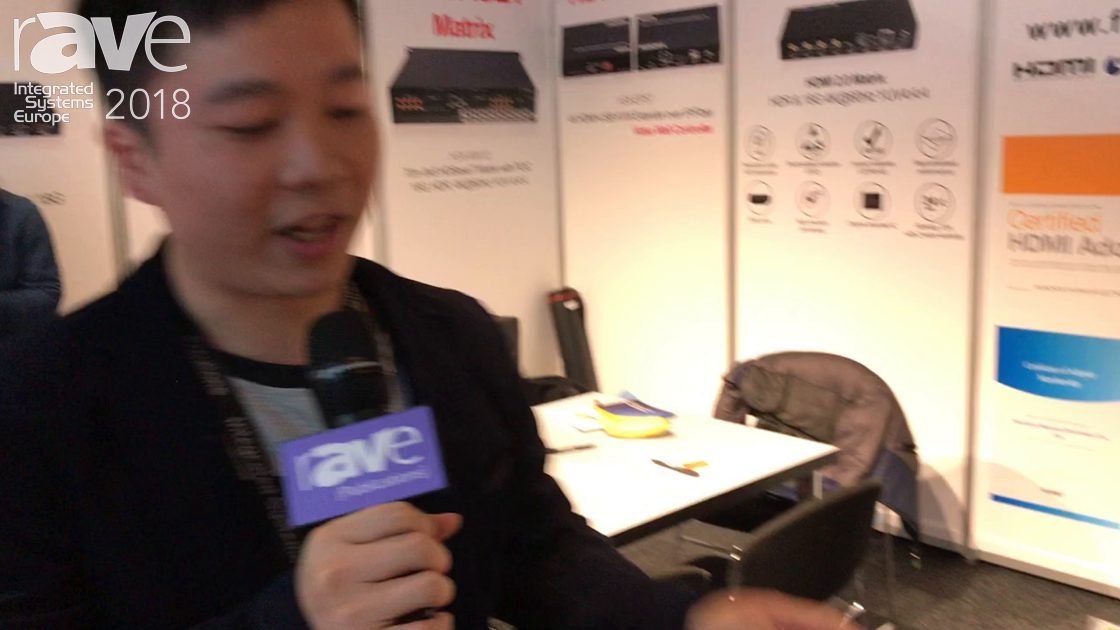 ISE 2018: FoxUn Shows HDMI Over HDBaseT Extender for Sending 4K60 4:4:4 Signals Over 40 Meters