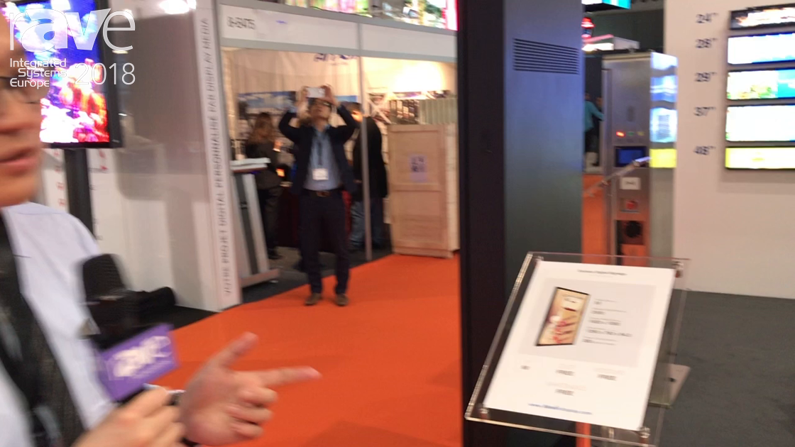 ISE 2018: Keewin Presents 2500 Nit IP66 Fully Enclosed Outdoor Digital Signage Kiosk