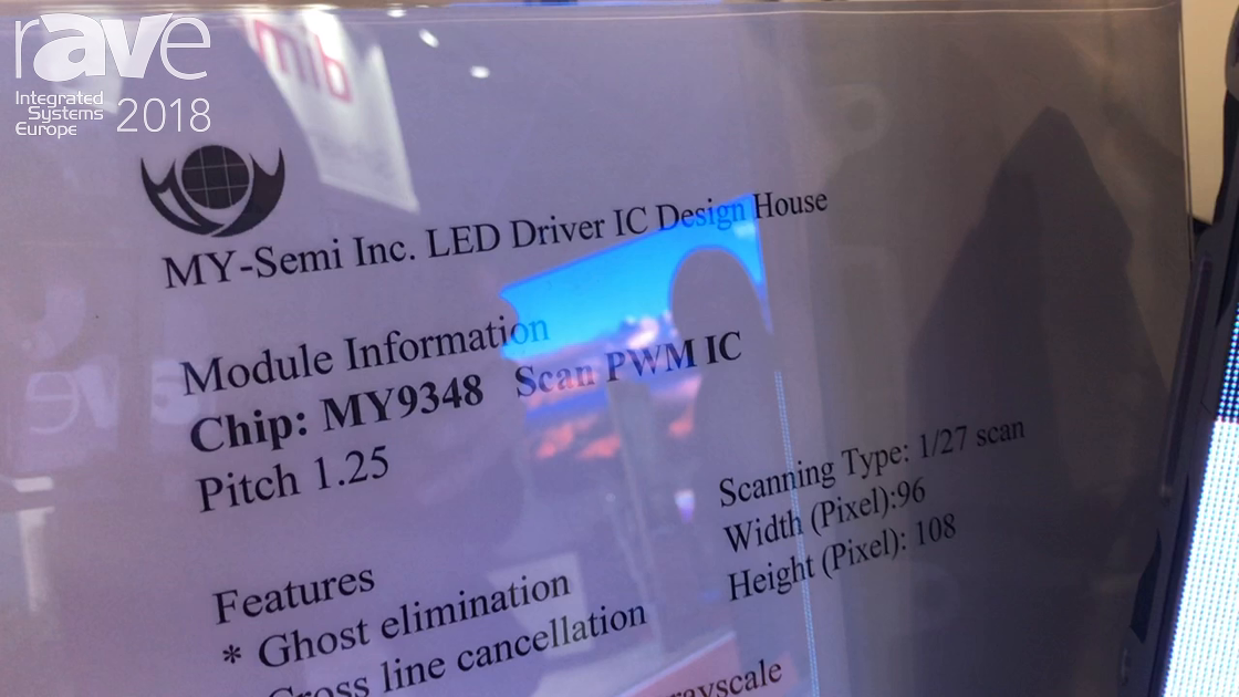 ISE 2018: MY-Semi Inc. Talks About Its LED Driver IC Design House