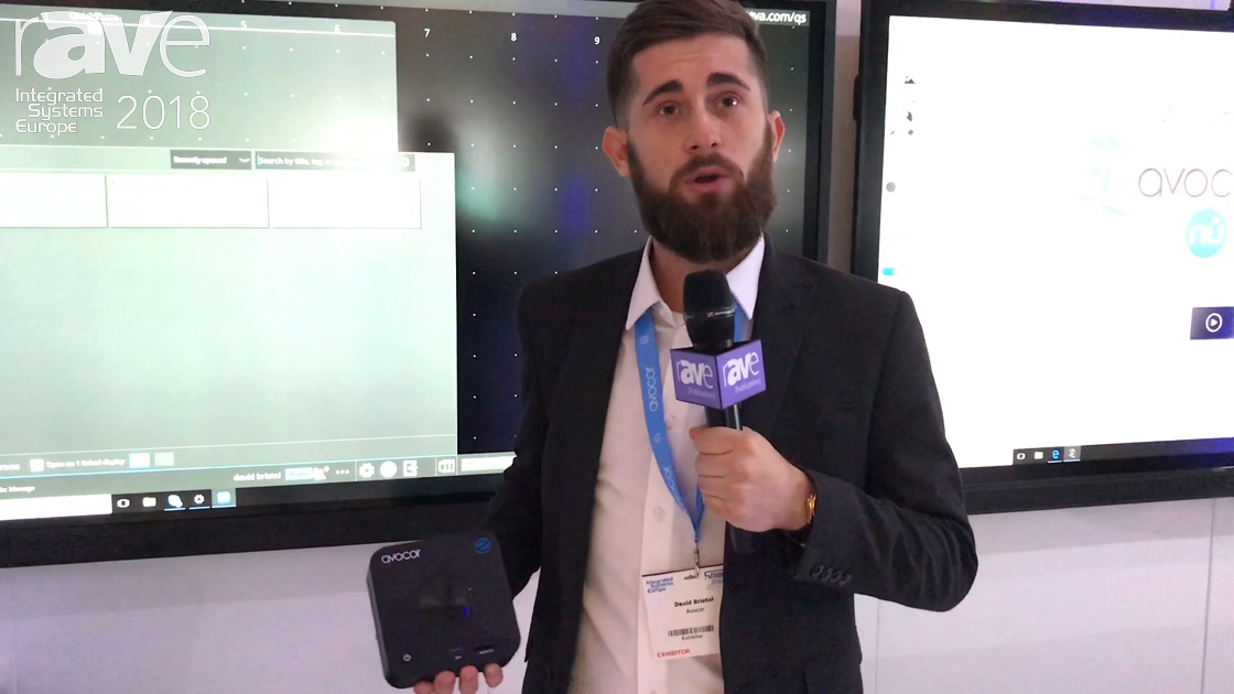 ISE 2018: Avocor Launches AVC-WIN10 MiNi PC for Running Microsoft Windows 10