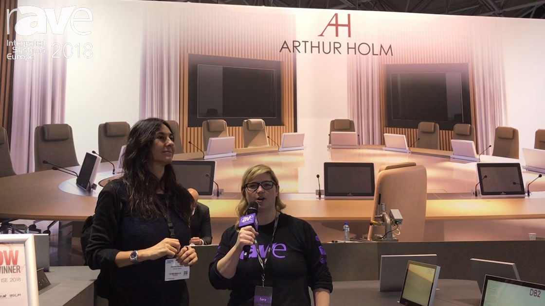 ISE 2018: Sara Abrons Interviews Arthur Holm's Montse Romero at the End of ISE