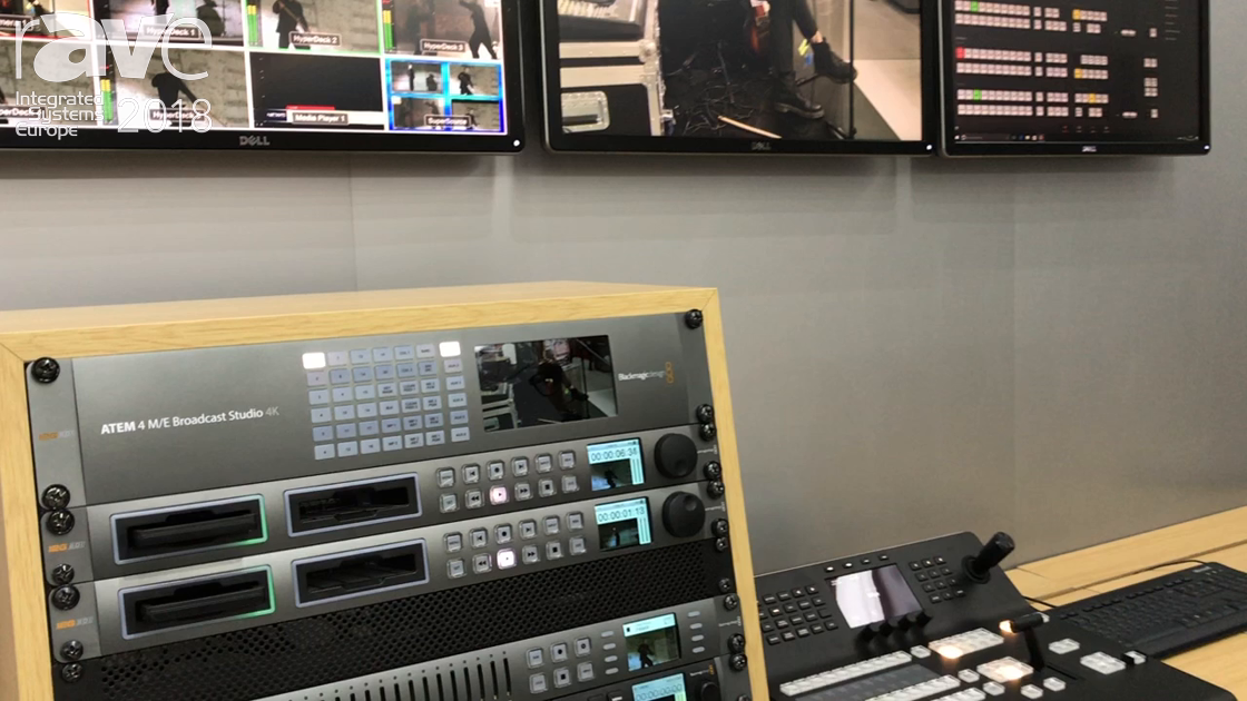 ISE 2018: Blackmagic Design Announces ATEM 4 M/E Broadcast Studio 4K Live Production Switcher