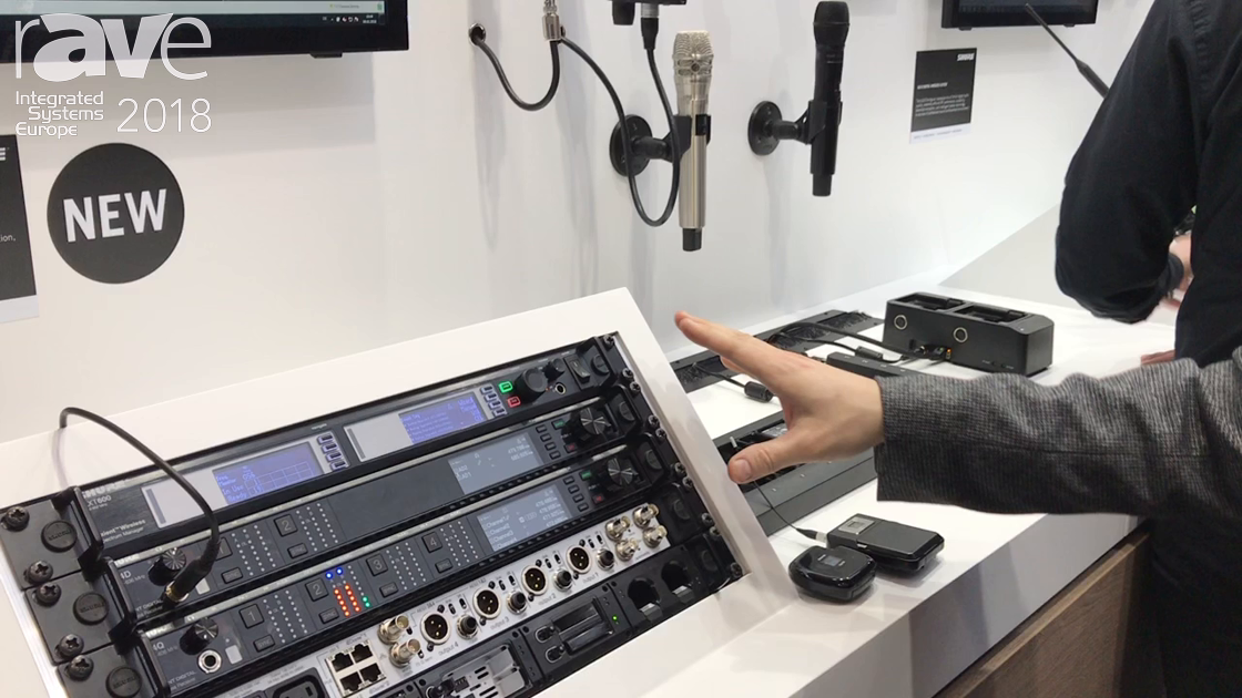 ISE 2018: Shure Exhibits Accent Digital Now Wireless Audio System