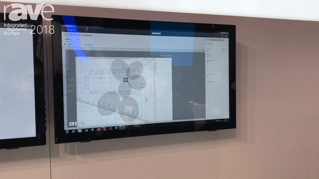 ISE 2018: Shure Highlights Designer Software for Integrating Meeting Spaces with Ease