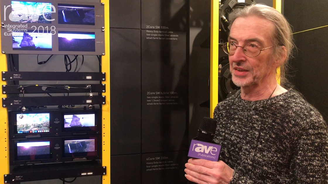 ISE 2018: FieldCast Highlights mux one and demux one Multiplexer and De-Multiplexer System for Fiber