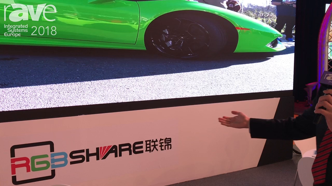 ISE 2018: RGBShare Showcases Outdoor 1.9 Pixel Pitch LED Display