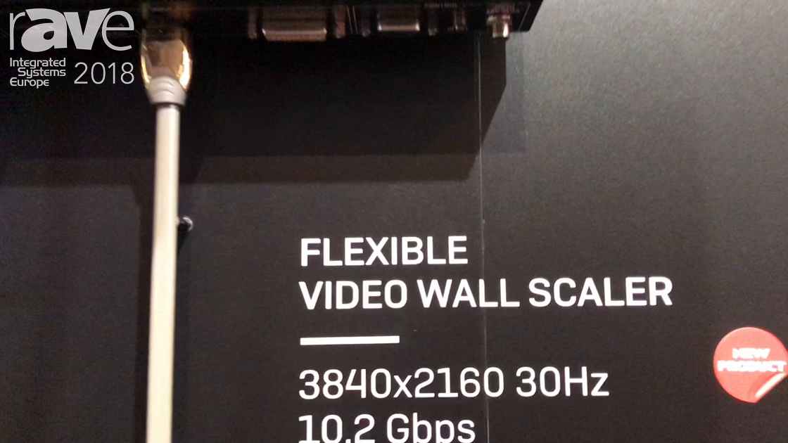 ISE 2018: LINDY Talks About Its Flexible Video Wall Scaler
