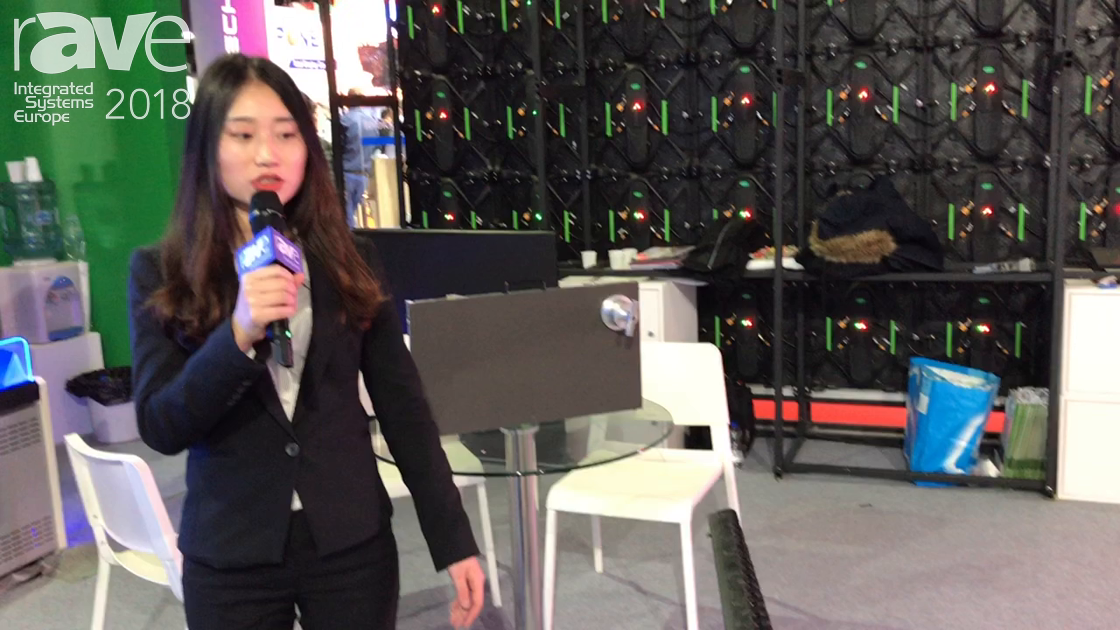 ISE 2018: Chipshow Explains Net Series LED Screen For Rental and Staging Events