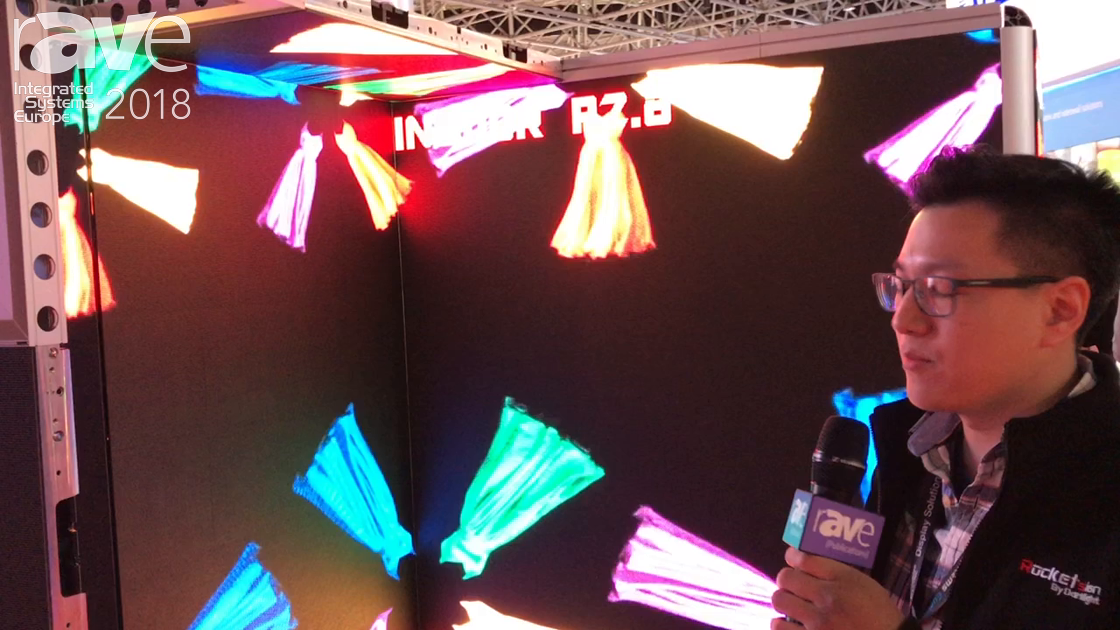 ISE 2018: Rocketsign Announces Indoor P2 LED Display for Rental