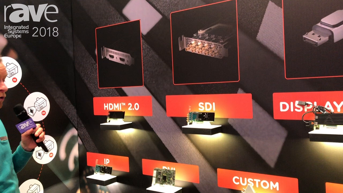 ISE 2018: DELTACAST Talks About FLEX Video I/O Product