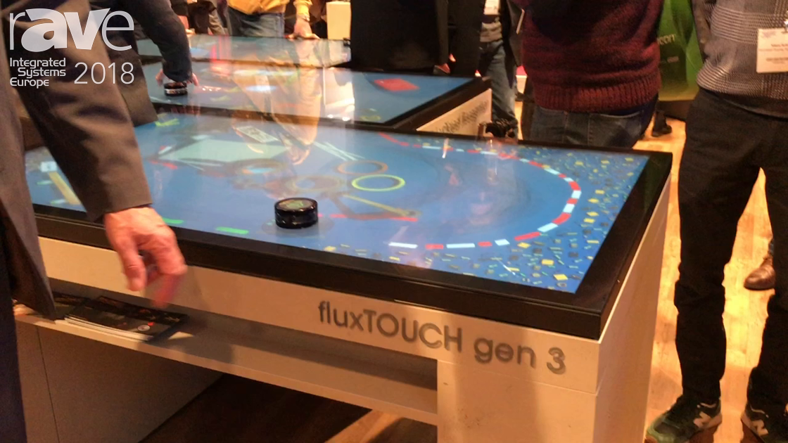 ISE 2018: LANG AG Highlights New fluxTOUCH gen 3 Capacitive Touch Display and Marker Object Tracking