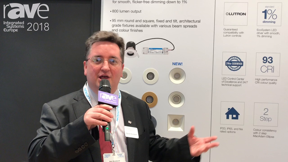 ISE 2018: Lutron Presents Line of Lighting Fixtures for European Market