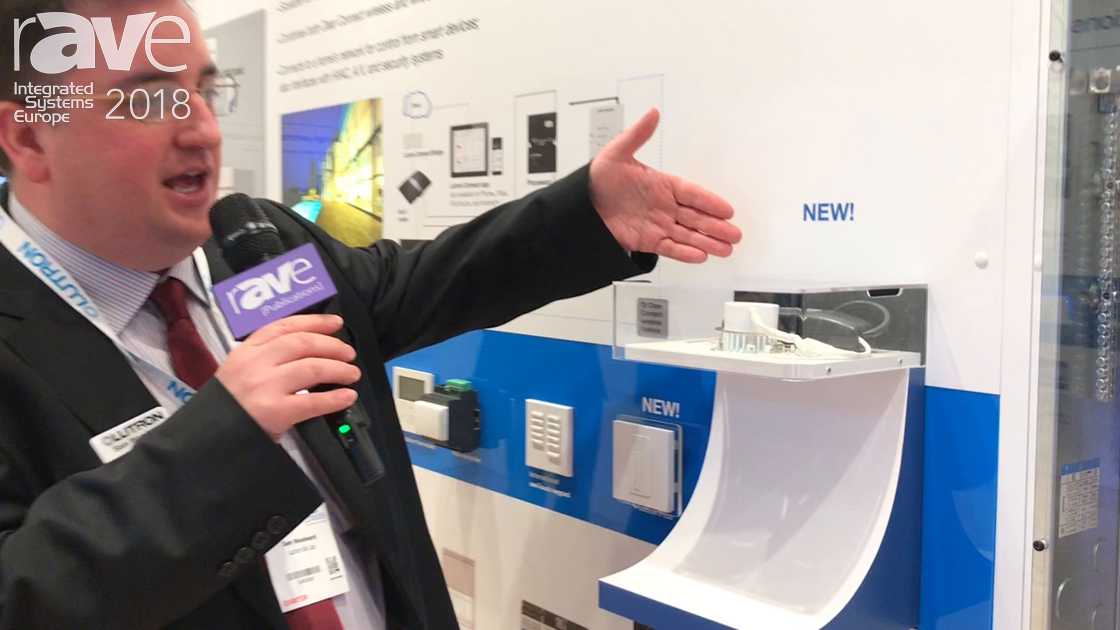 ISE 2018: Lutron Showcases New Wireless HomeWorks In-line Dimmer for LED Lights