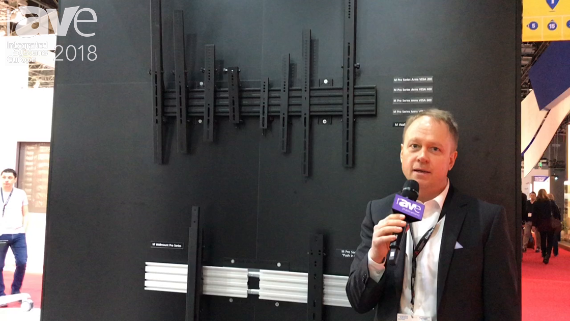 ISE 2018: Multibrackets Introduces the Pro Series Modular Based Mounting System