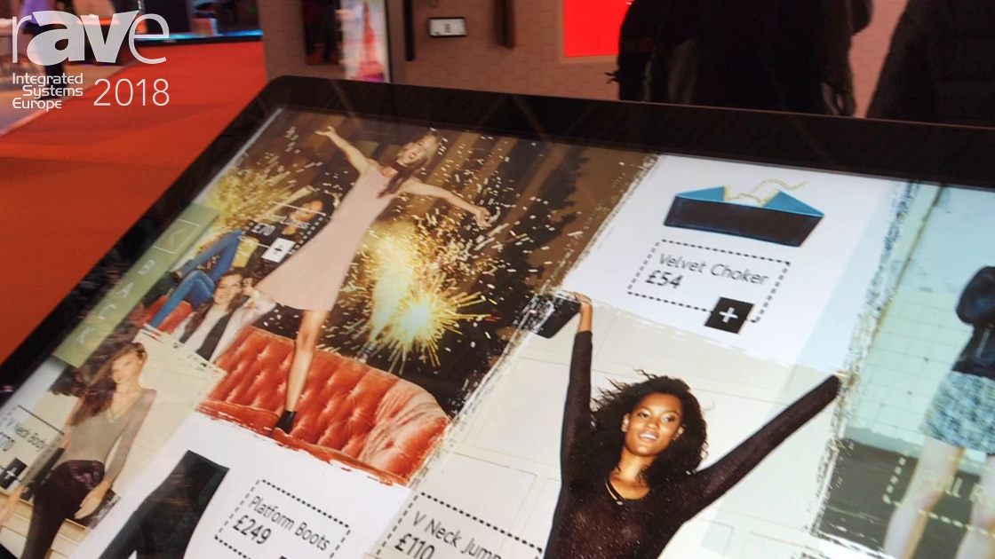 ISE 2018: Allsee Technologies Demos 55-Inch PCAP Multitouch Kiosk Stand