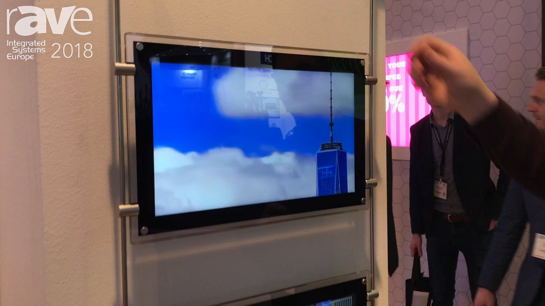 ISE 2018: Allsee Technologies Shows New 15-Inch, Rod-Powered Display