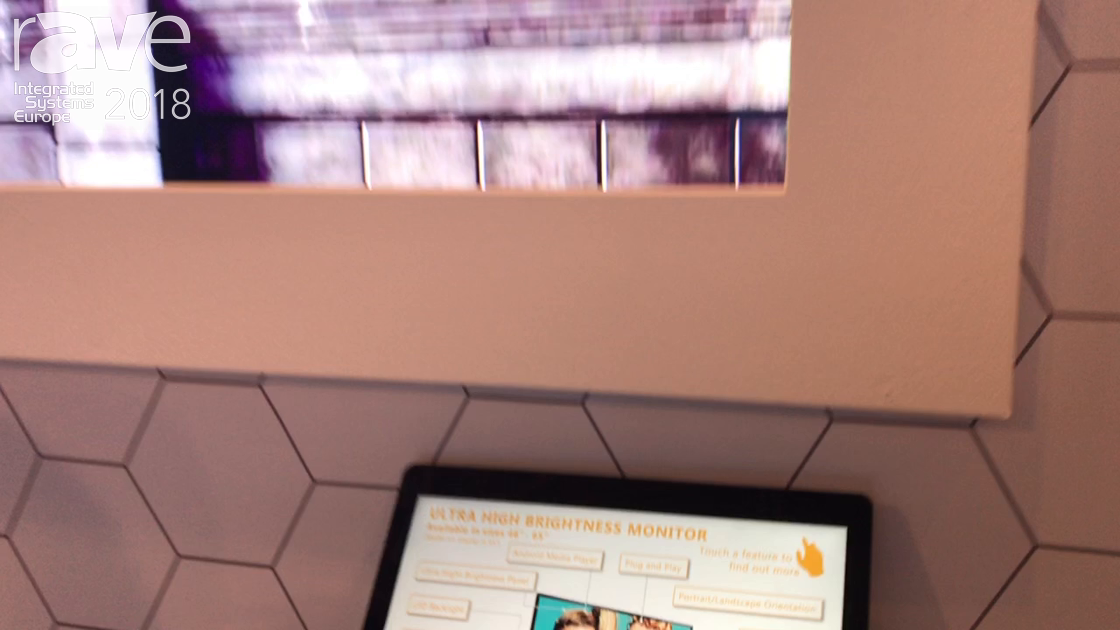 ISE 2018: Allsee Technologies Shows Ultra High Brightness Monitor For Window Displays