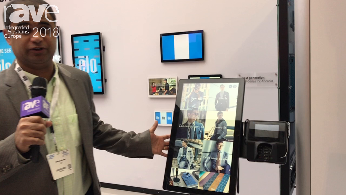 ISE 2018: Elo Touch Solutions Announces Kiosk 2.0 Series