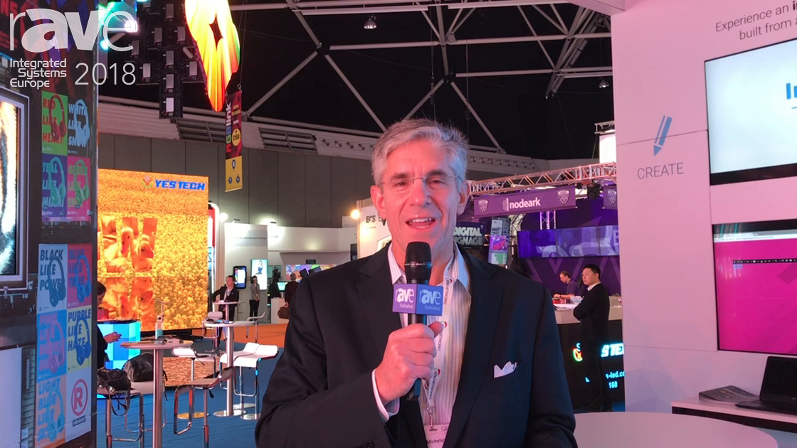 ISE 2018: RMG Networks Talks About MAX Next Generation LED Screens