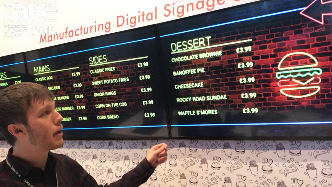 ISE 2018: Allsee Technologies Shows Off Network Digital Menu Boards for Retail Applications