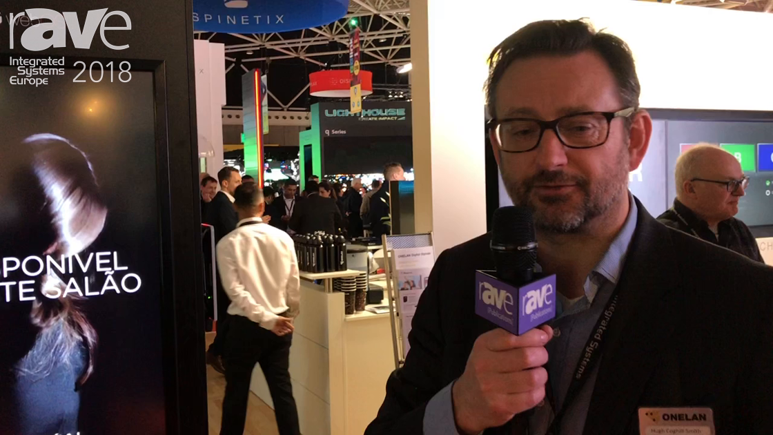 ISE 2018: ONELAN Talks About Content Management System For A Mixed Network