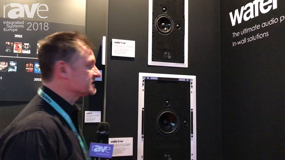 ISE 2018: PMC Shows wafer-iw Series of On-Wall and In-Wall Loudspeakers