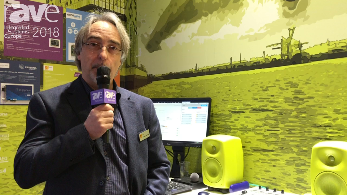ISE 2018: RAVENNA Is an Open Audio-Over-IP Standard With AES67 and ST2110 Built In