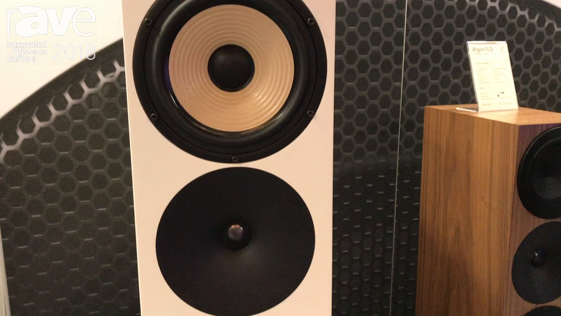 ISE 2018: Amphion Loudspeakers Demos Krypton3 Speaker
