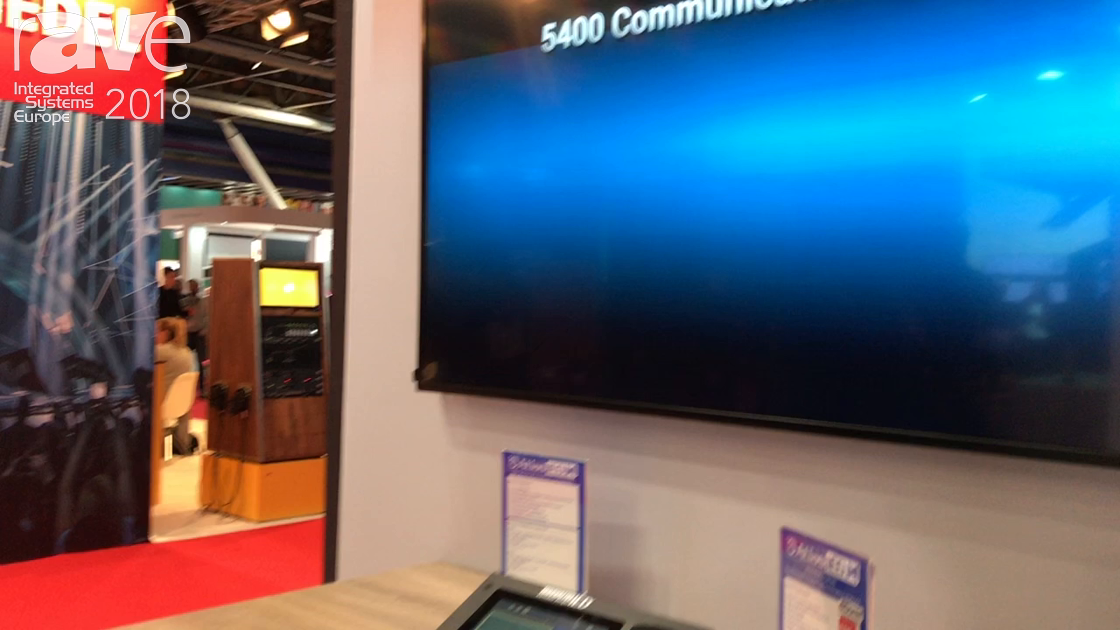 ISE 2018: AtlasIED Demos 5400 Series Digital Communication System