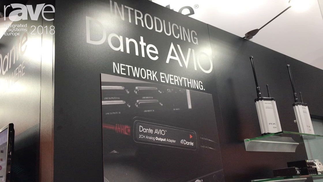 ISE 2018: Audinate Announces Line of Dante AVIO Network Adapters